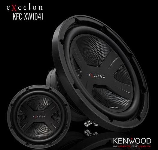 """CMA Product Spotlight: Kenwood eXcelon KFC-XW1041 10"""" Subwoofer"""
