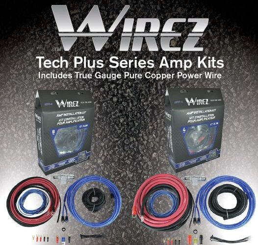 Product Spotlight | Wirez Tech Plus series amp kits