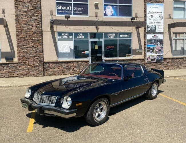 Audio Video Unlimited   1977 Camaro from